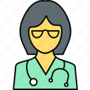 doctor, gynae, gynaecologist, medical, physician, practitioner icon