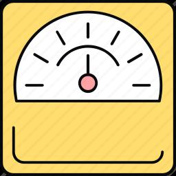 bp, ecg, meter icon