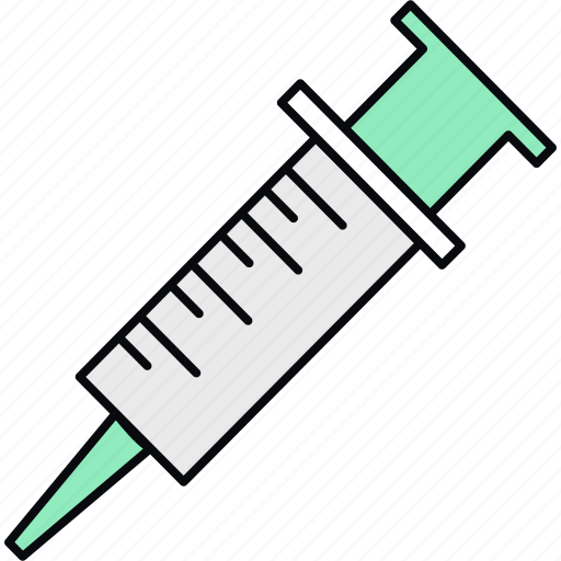 Injection, syringe, medical, vaccination, vaccine, healthcare, treatment icon - Download on Iconfinder