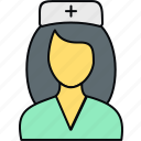 care, healthcare, medical, nurse, pharmacy, sister icon
