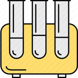lab, laboratory, medical, samples, science, test tubes, tubes icon