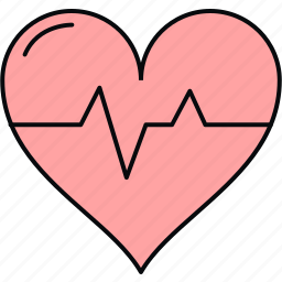 beat, ecg, healthcare, heartbeat, medical, pulse, rate icon