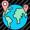 location, hospital, map, medical, navigation