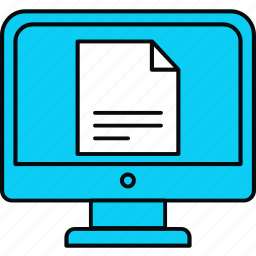 bill, document, healthcare, medical, online, report icon