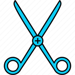 aid, doctor, equipment, healthcare, medical, scissor, tool icon