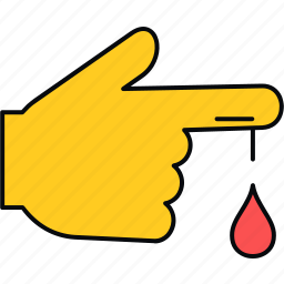 bleed, bleeding, blood, cut, flow icon