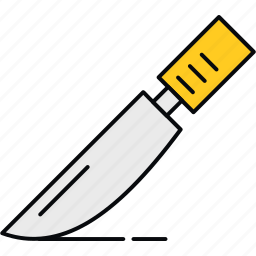 blade, cut, cutting, medical, operation, surgery, surgical icon