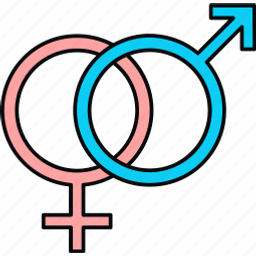 gender, sex, sexual, sign, symbol icon