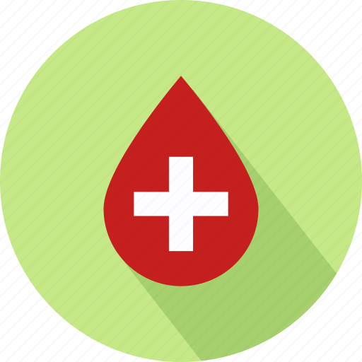blood drop, medical, medical plus sign, plus sign icon