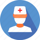 medical, nurse, nurse in operation theatre icon