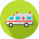 medical, medical van, transport, transportation, vehicle icon