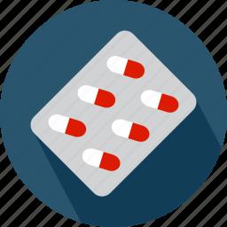 medical, pill, pills, pills strap icon