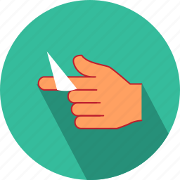 gesture, hand, medical, treatment icon
