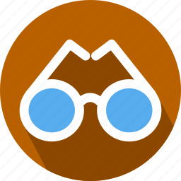 eye, glasses icon