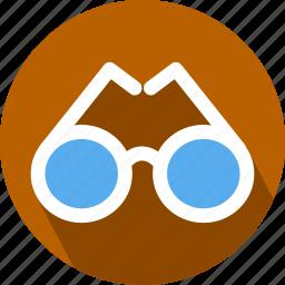 eye, glasses icon