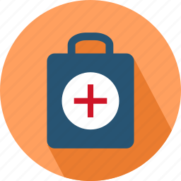bag, briefcase, medical, medical bag icon