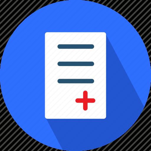 checklist, medical, medical checkup, medical sheet icon