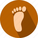 feet, foot icon