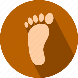 feet, foot icon
