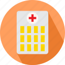 building, hospital, hospital building, medical building icon