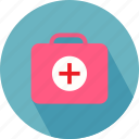 medical bag, medical briefcase, medical sign icon