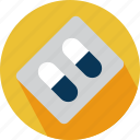 pills, pills strap icon