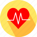heart, heart beat icon