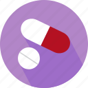 capsule, medicine, pills icon