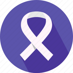 medical, medical ribbon, ribbon icon