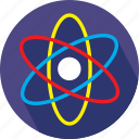 chemistry, physics, space icon