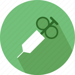 injection, medical injection icon