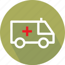 embulance, medical van, medical vehicle, van icon