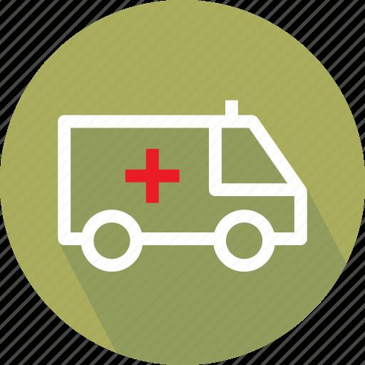 embulance, medical van, medical vehicle, van icon