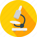 microscope, test icon
