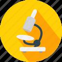 microscope, test icon