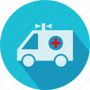 embulance, medical, medical van, van, vehicle icon