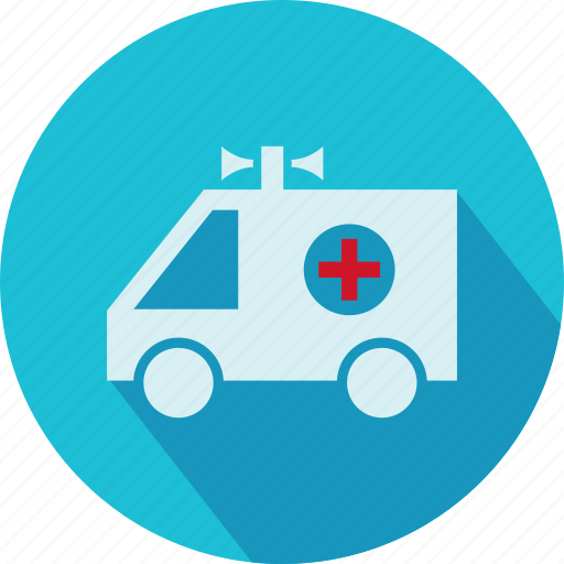 embulance, medical, medical van, van, vehicle icon