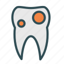 cavity, dental, teeth icon