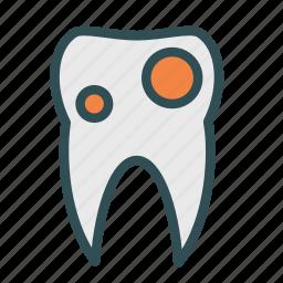 cavity, dental, teeth icon