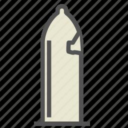 broken, condom, protection, safe, sex icon