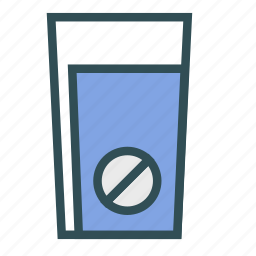 container, denied, glass, not icon