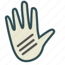 doctor, examination, hand, injury icon