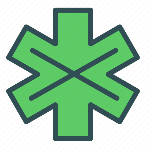 cross, intersection, mark icon