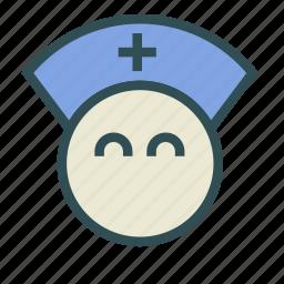doctor, male, nurse icon