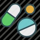 doctor, drug, pharmacy, pill, prescription icon