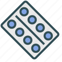 drug, pill, prescription, tablet icon