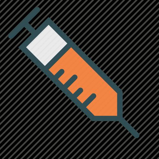 drug, medical, syringe, treatment icon