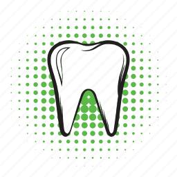 clean, comics icon, dent, dental, dentist, mouth, tooth icon
