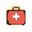 aid, box, case, first, hospital, medical, medicine icon