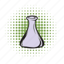 analysis, chemistry, comics icon, equipment, experiment, medical, medicine icon